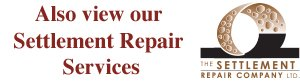 View our Foundation and Settlement Repair Services